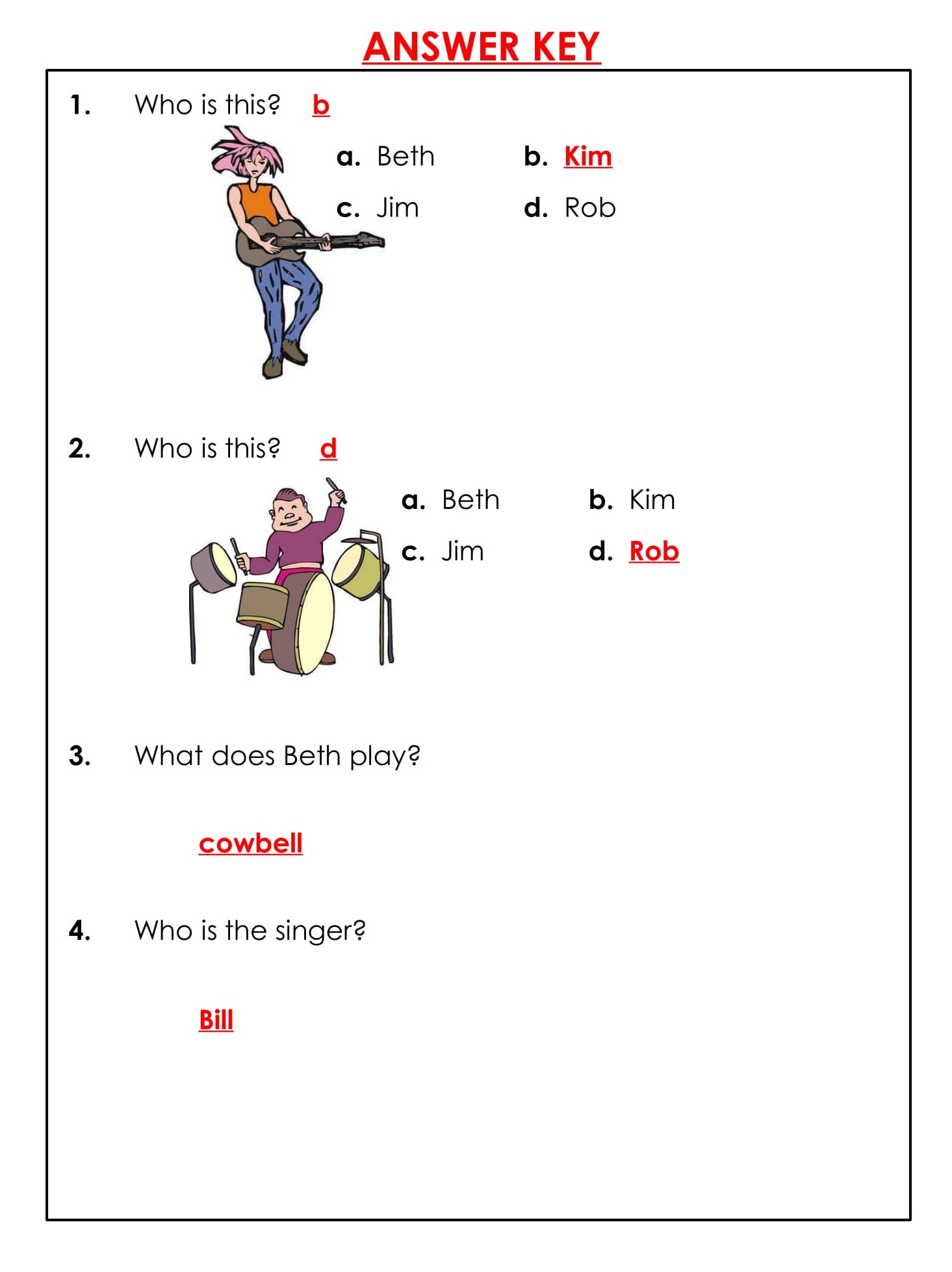 1st Grade Reading Comprehension Worksheets Printable PDF