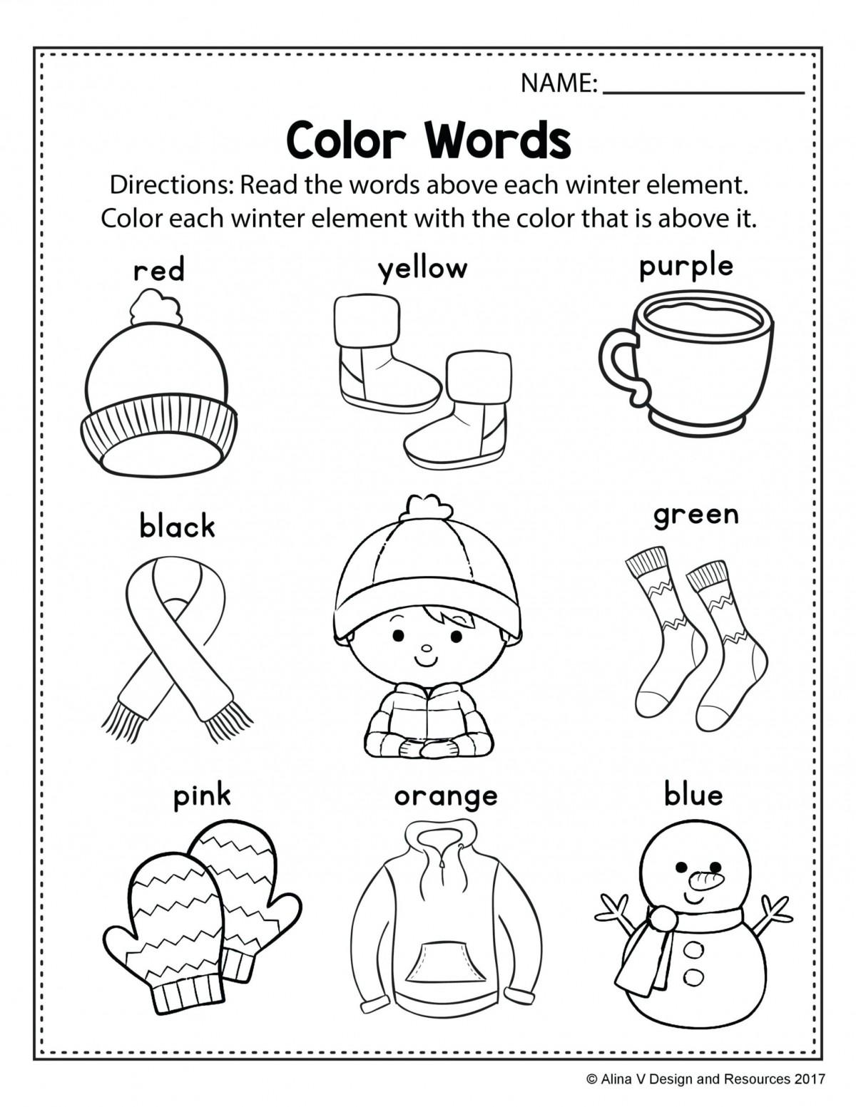 Kindergarten Practice Sheets Worksheets