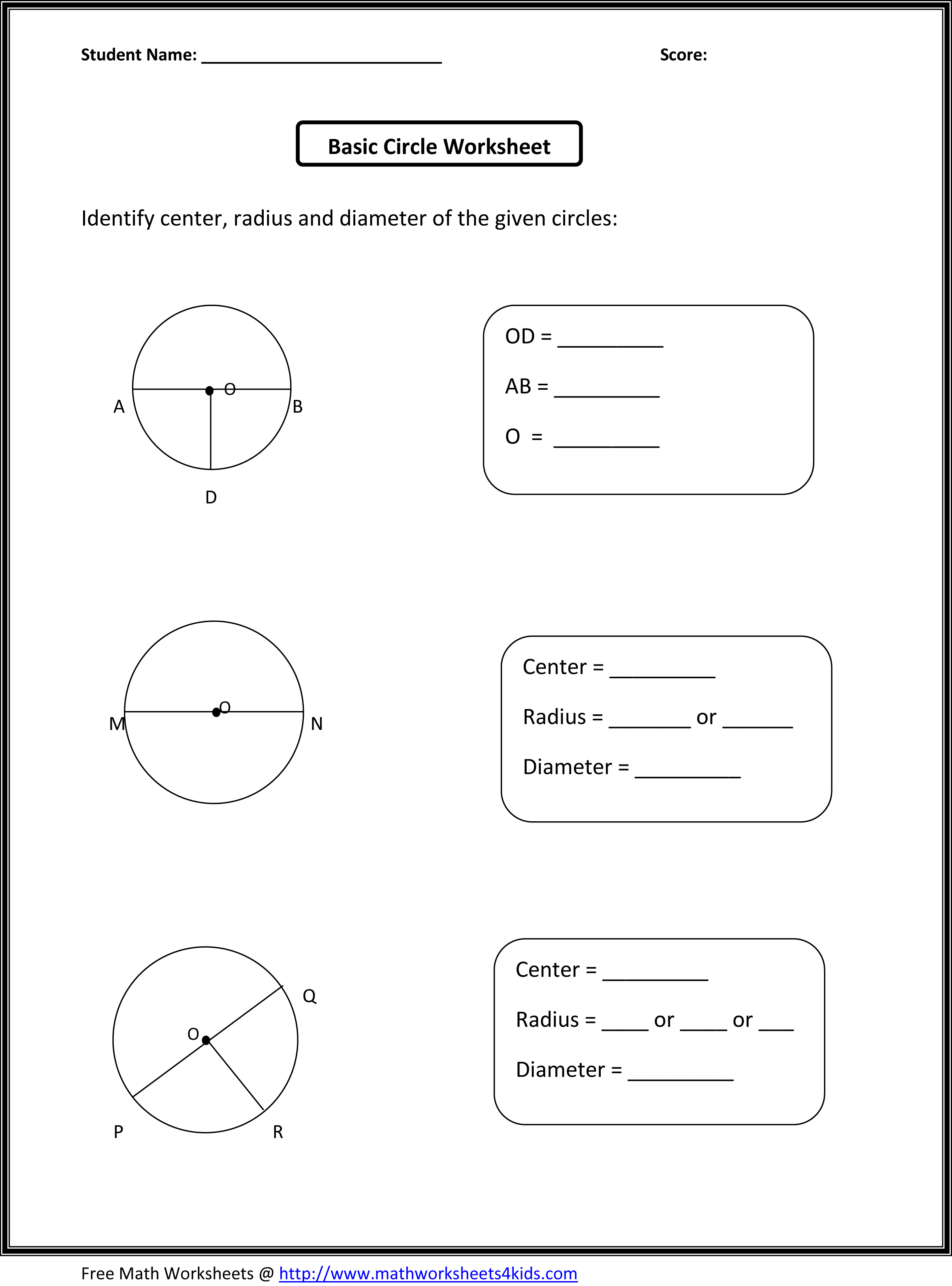 3rd Grade Geometry Worksheet Midpoint