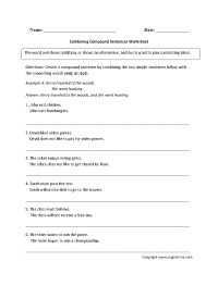 14 Best Images of Sentences And Fragments Worksheets - 4th ...
