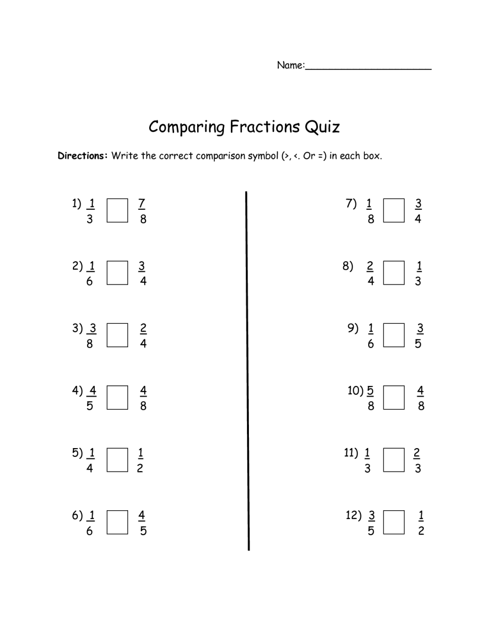 medium resolution of Equivalent Fractions Worksheets Third Grade   Printable Worksheets and  Activities for Teachers