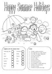 15 Best Images of School Supply Worksheets Printable