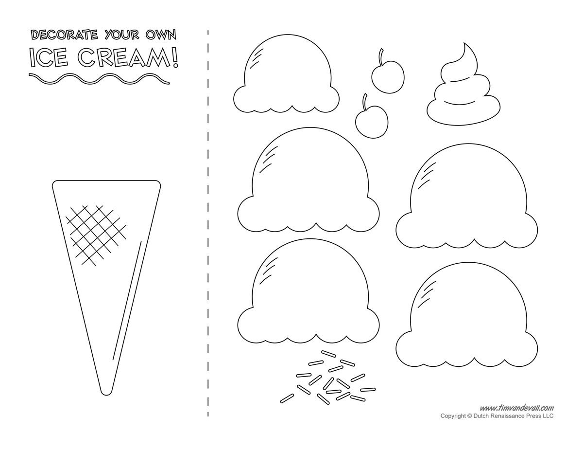 9 Best Images Of Cone Shape Worksheets For Preschoolers