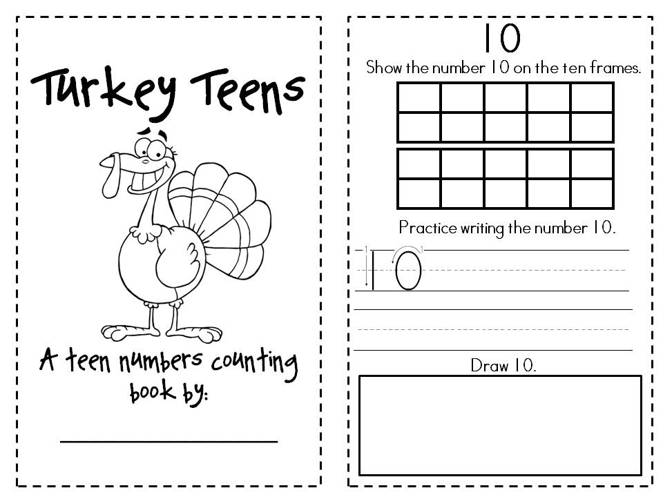 17 Best Images of Counting Teen Numbers Worksheets