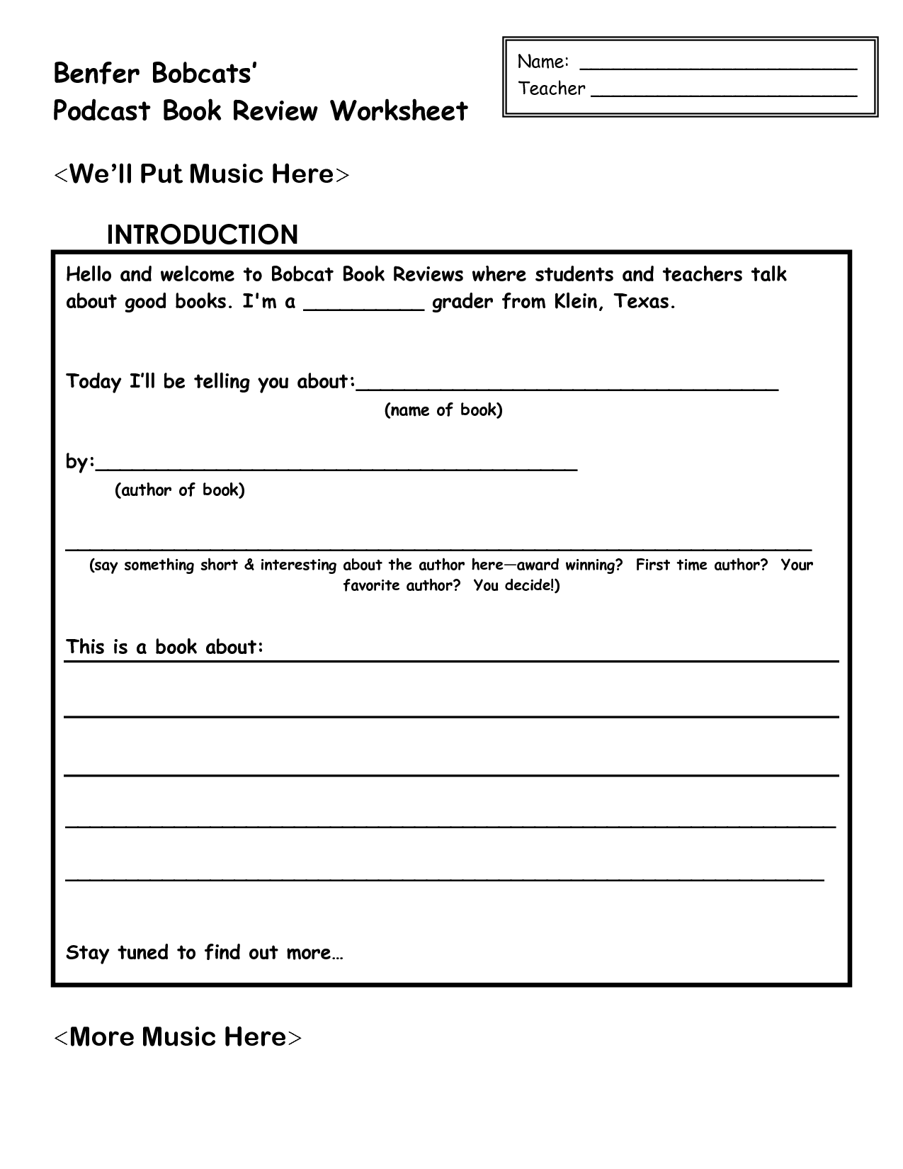 17 Best Images Of Chapter Summary Worksheets Elementary