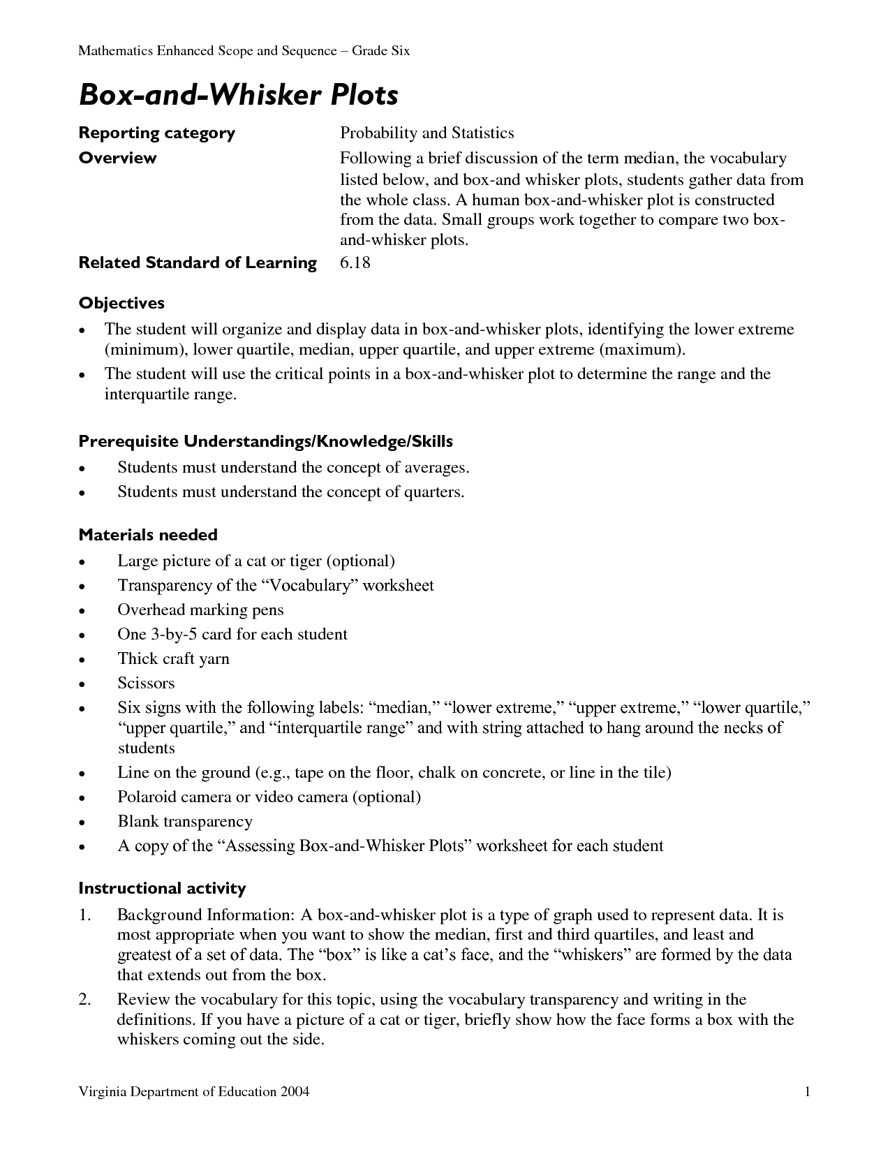15 Best Images Of Probability Vocabulary Worksheet