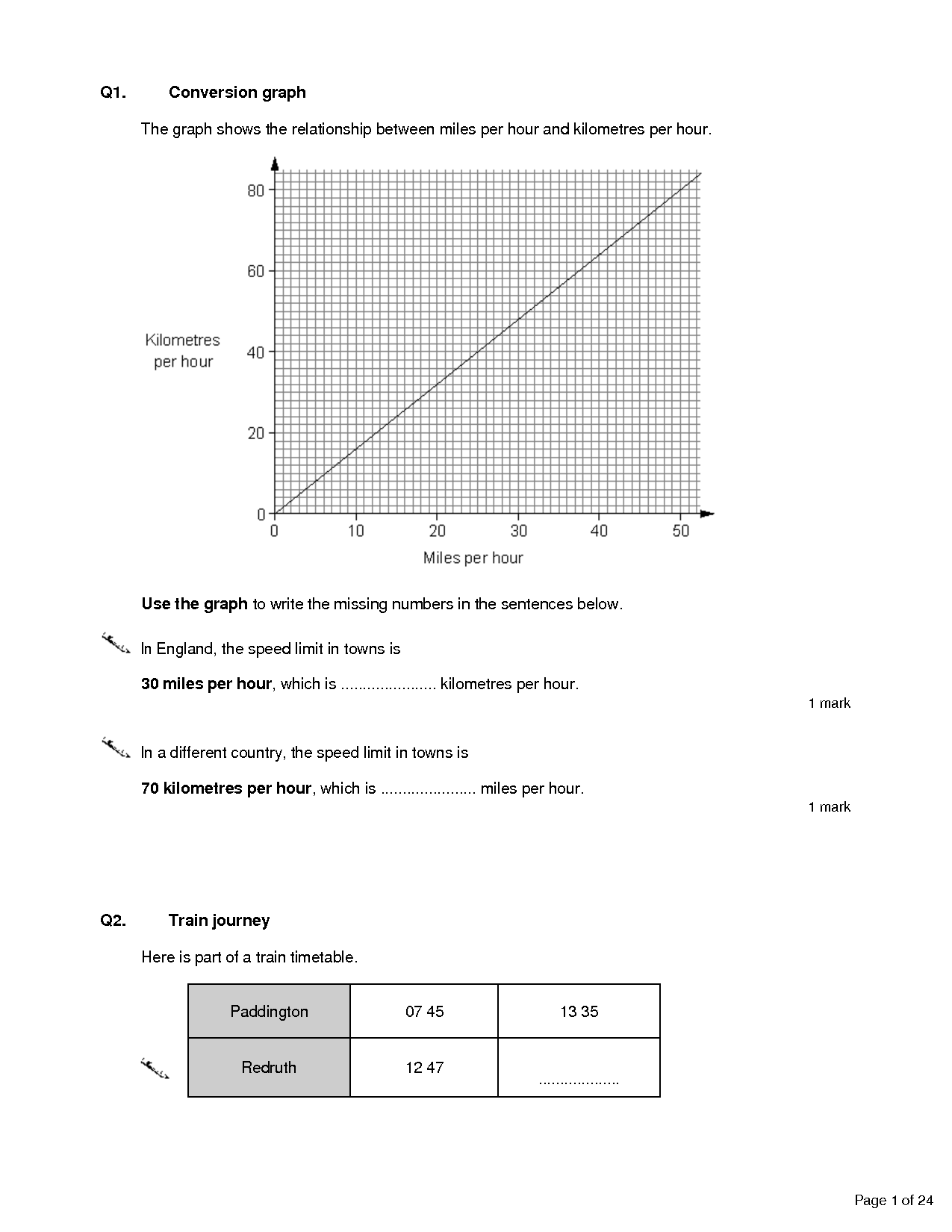 8 Best Images Of Line Graph Worksheets Middle School
