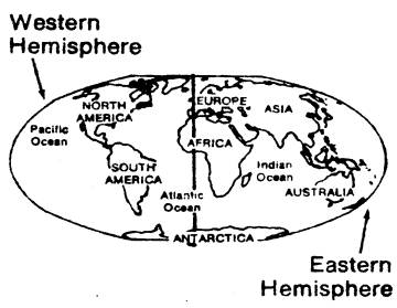Coloring Globe Southern Hemisphere Coloring Pages