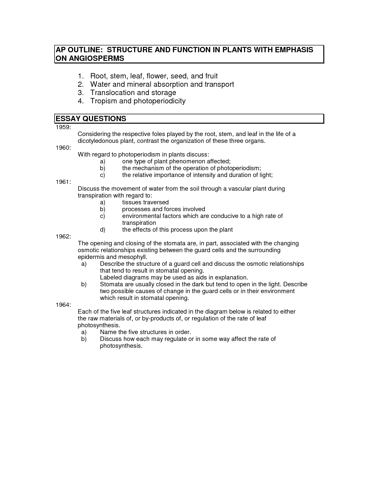 structure of a persuasive essay