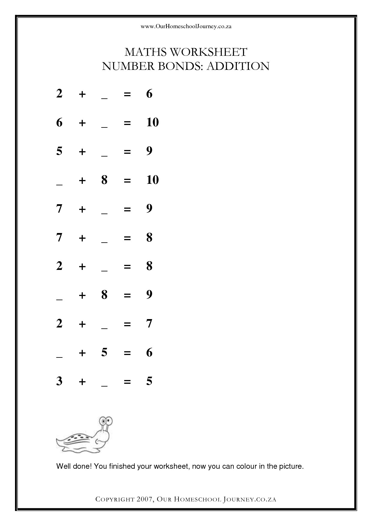10th Graders Printable Worksheet