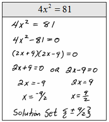18 Best Images of Solving Quadratic Equations Factoring