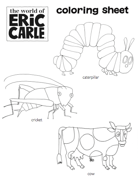 16 Best Images of Eric Carle Worksheets For Preschool