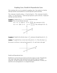 10 Best Images of Slope Of Perpendicular Lines Worksheet ...