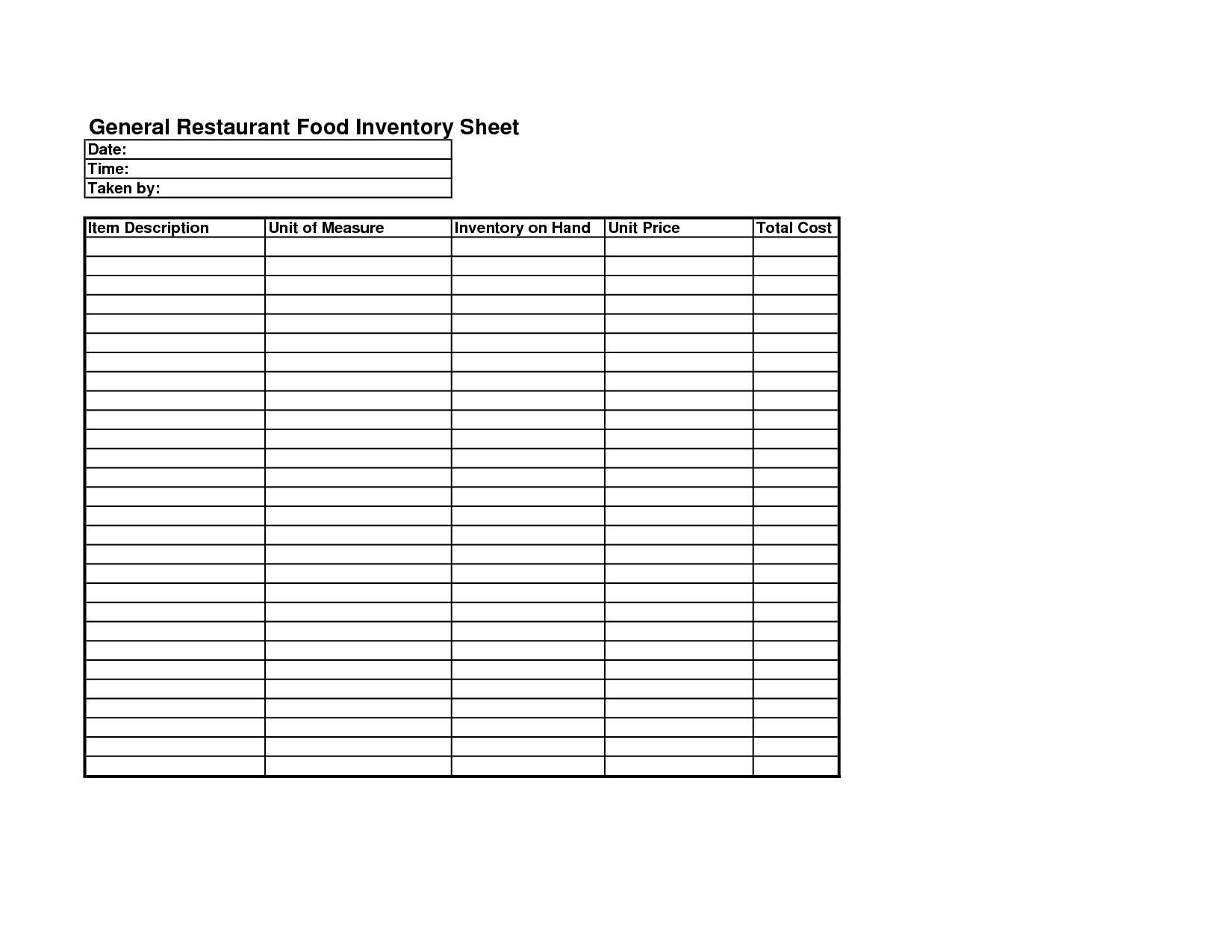 9 Best Images Of Food Cost Formulas Worksheets