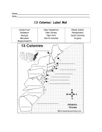 12 Best Images of 13 Colonies Worksheet - 13 Original ...