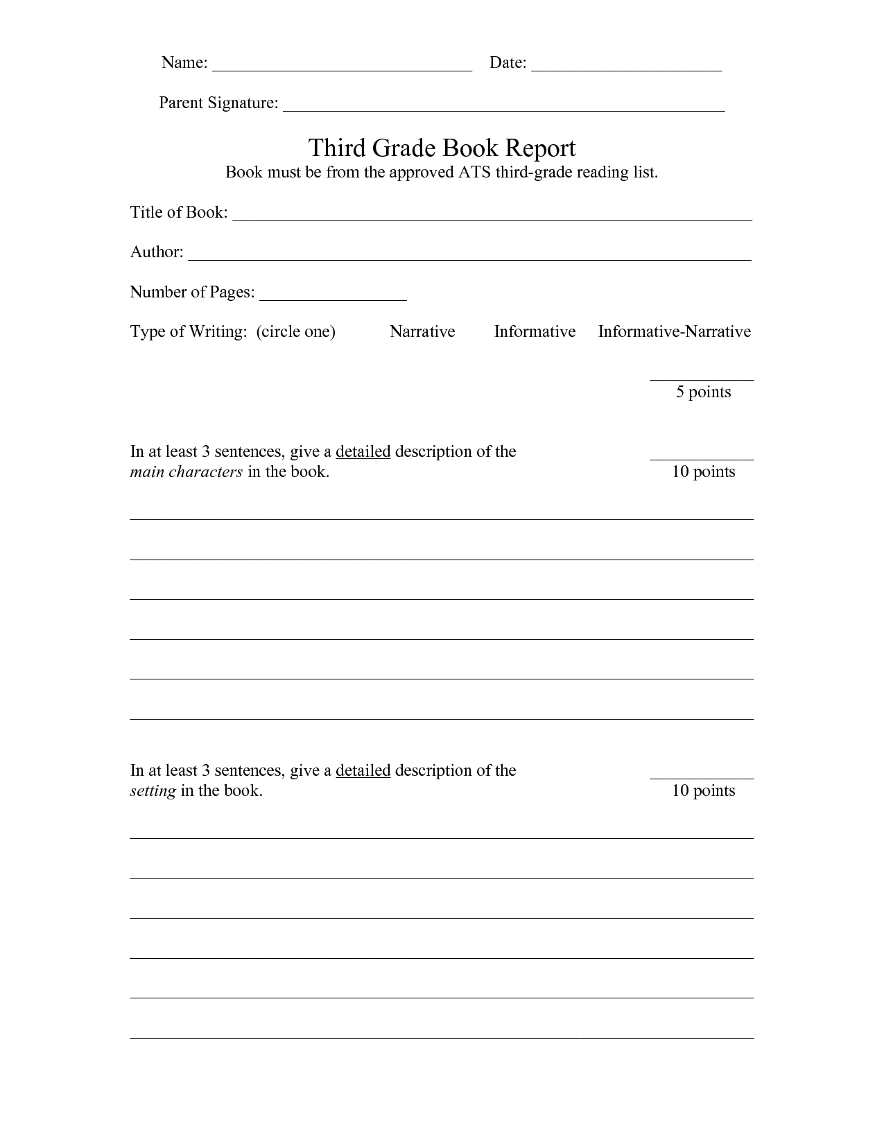 12 Best Images Of Back To School Night Worksheet