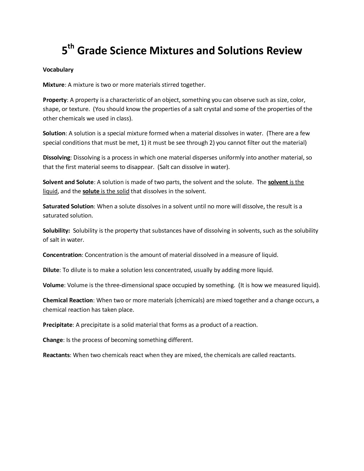 Board Texture Worksheet