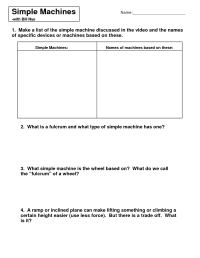 14 Best Images of Simple Inclined Plane Worksheet ...