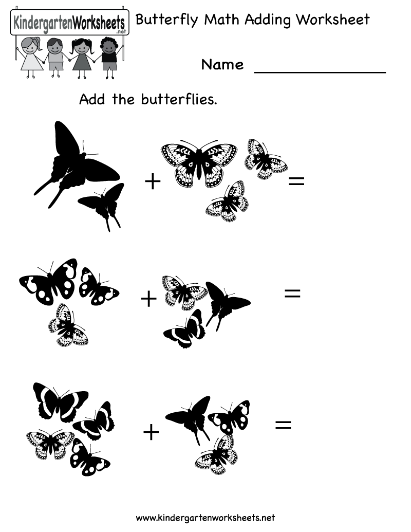 14 Best Images of Butterfly Printable Worksheets