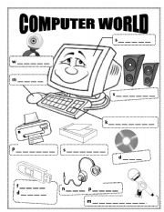 14 Best Images of Kindergarten Computer Worksheets