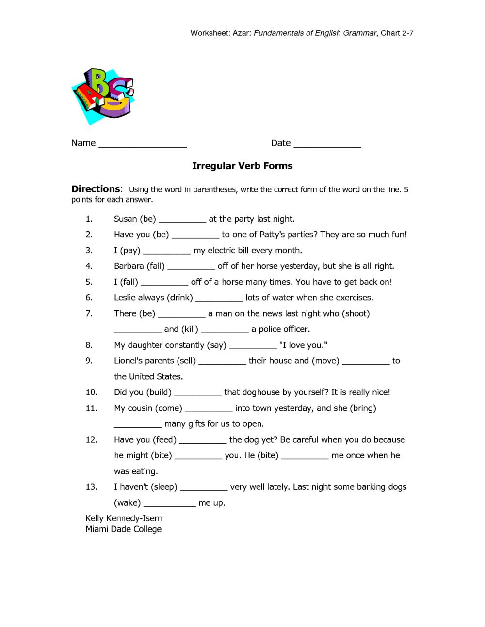 medium resolution of Future Tense Worksheet Grade 5   Printable Worksheets and Activities for  Teachers
