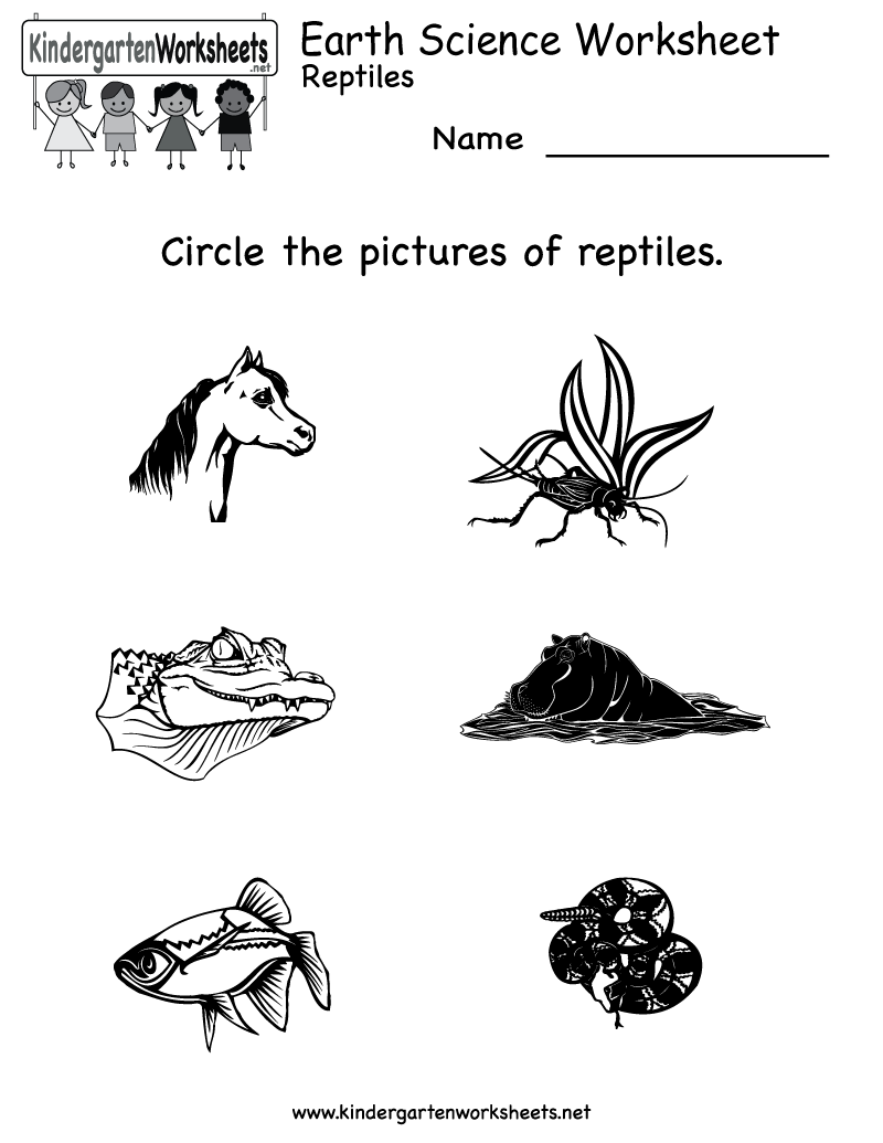 14 Best Images of Earth Preschool Worksheets