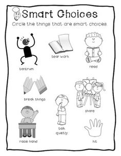 15 Best Images of Making Better Choices Worksheet