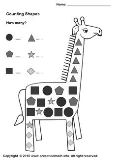 15 Best Images of Equal Parts Worksheets For Kindergarten