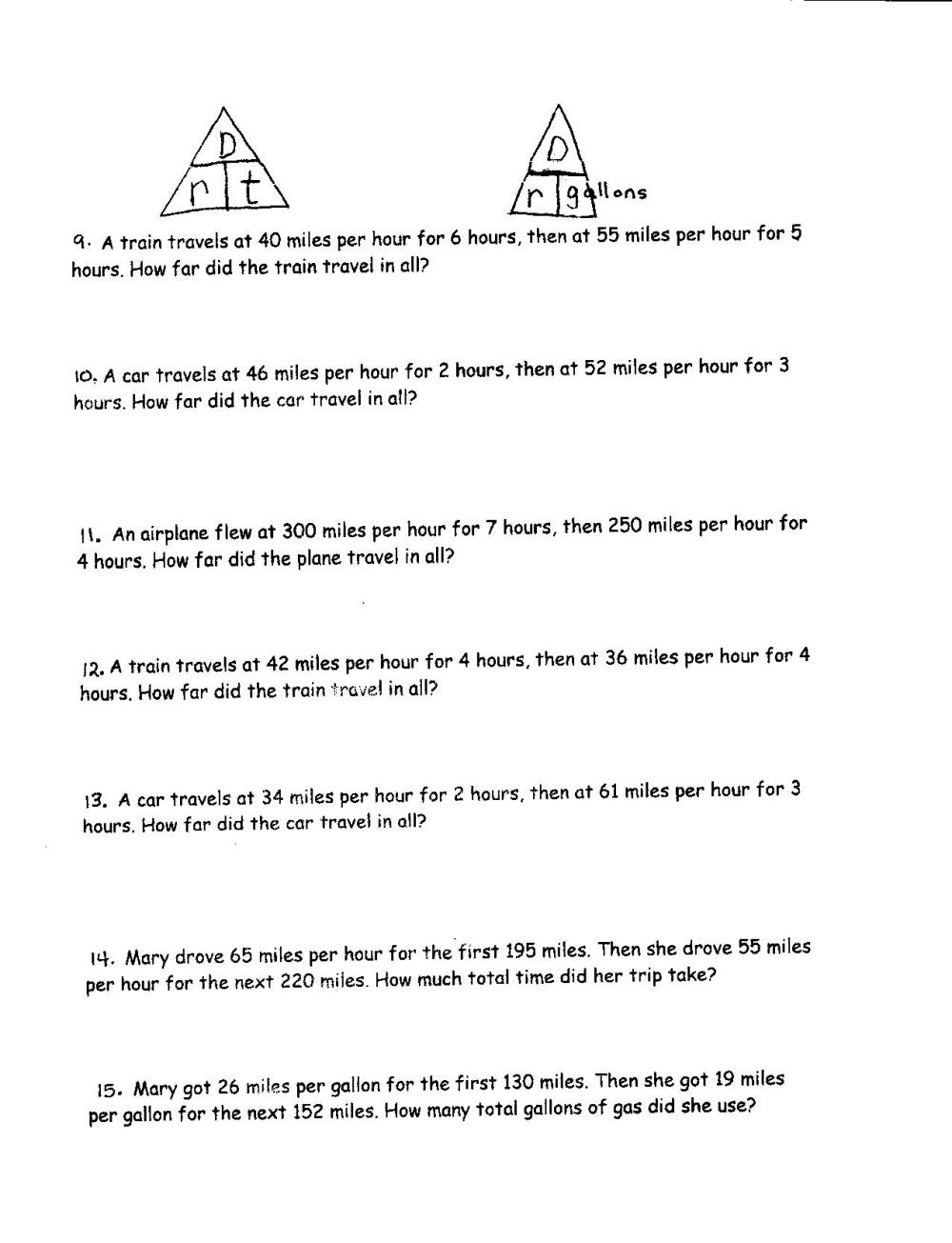 medium resolution of Science Worksheets On Distance   Printable Worksheets and Activities for  Teachers