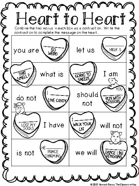 16 Best Images of Valentine's Day Worksheets 2nd Grade