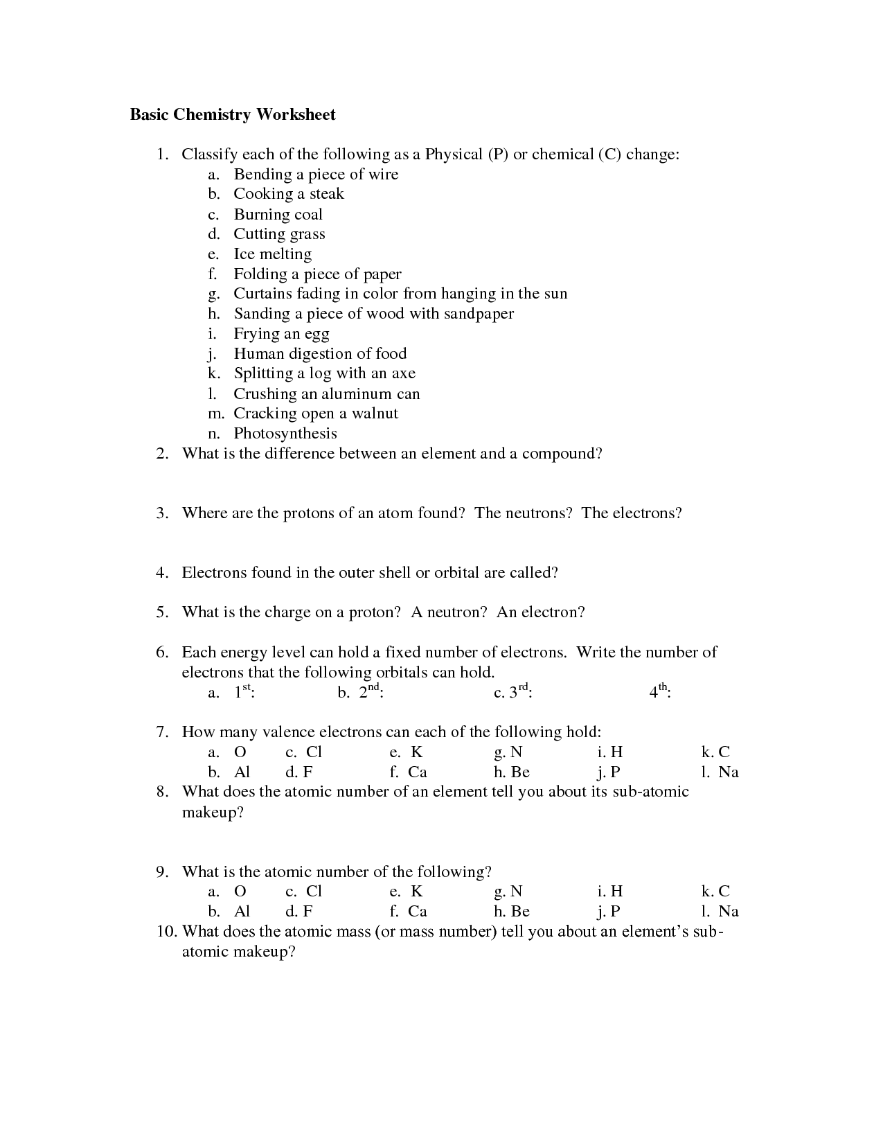 14 Best Images Of Basic Scientific Method Worksheet