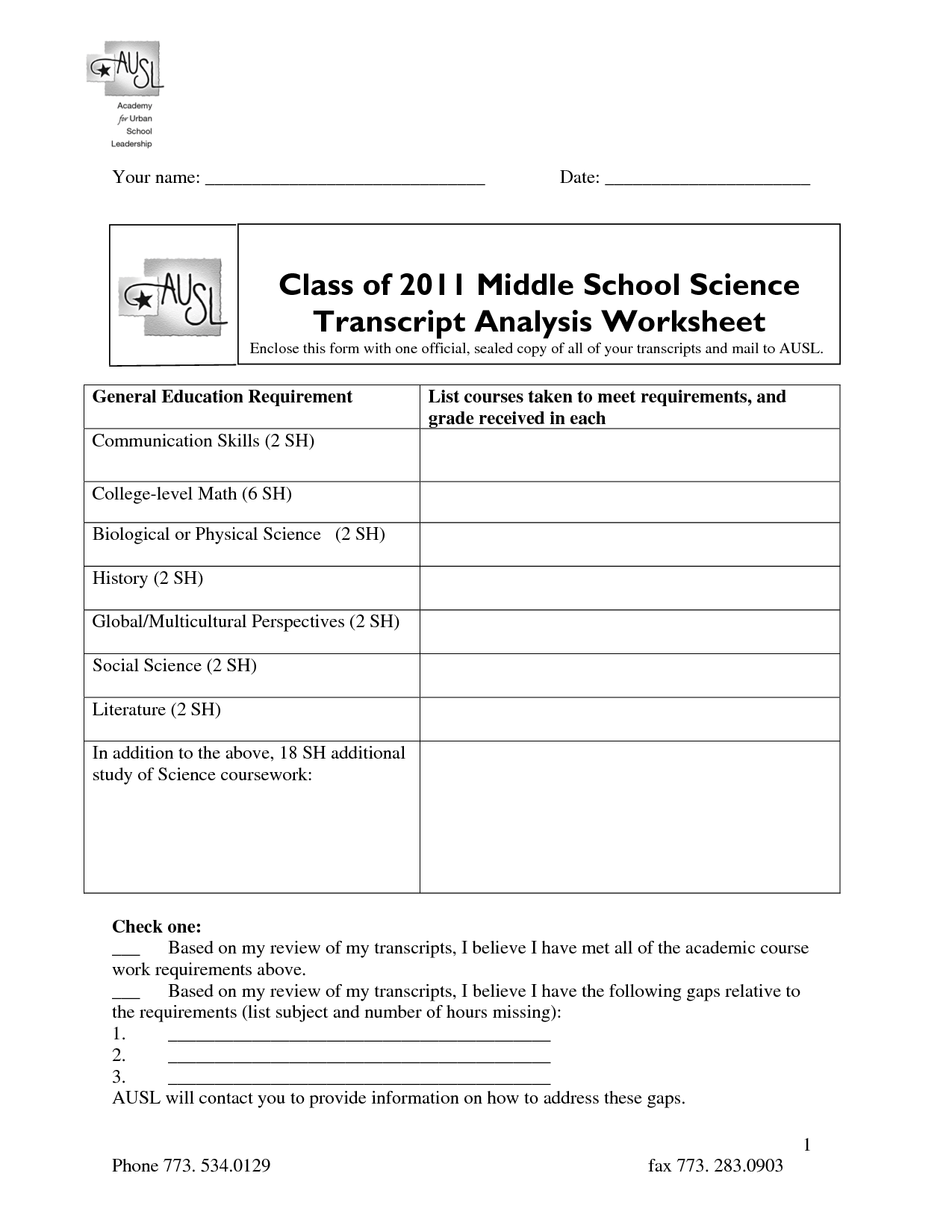 17 Best Images Of Middle School Science Worksheets