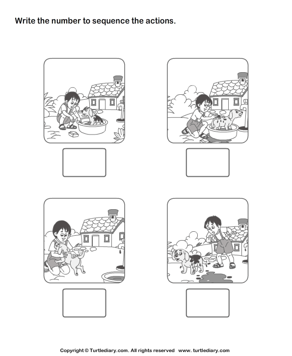 16 Best Images of Story Sequencing Worksheets 2nd Grade