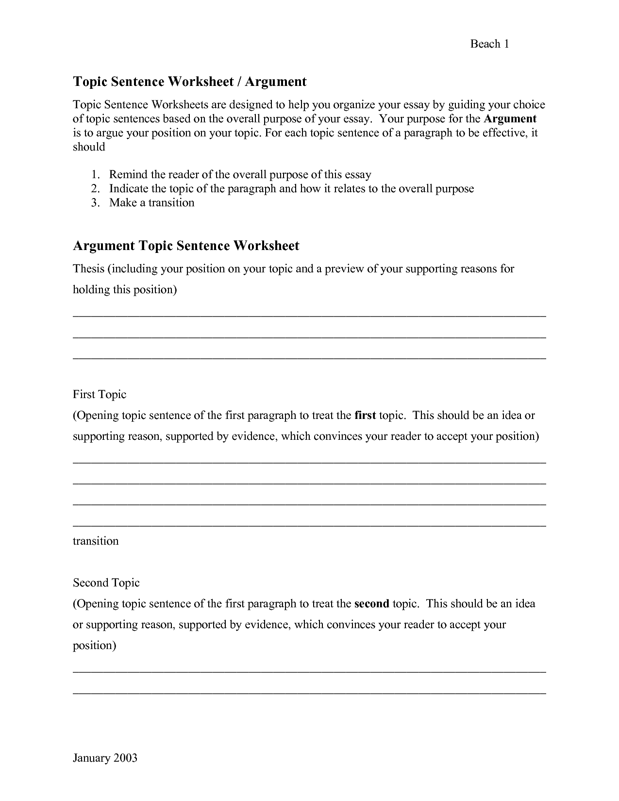 14 Best Images Of For College Writing Skills Worksheets