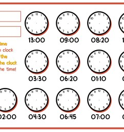 1st Grade Time Worksheets   Printable Worksheets and Activities for  Teachers [ 816 x 1056 Pixel ]