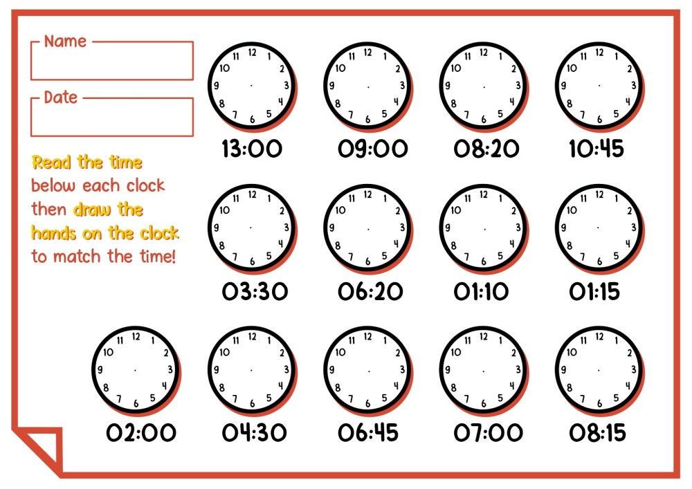 medium resolution of 1st Grade Time Worksheets   Printable Worksheets and Activities for  Teachers