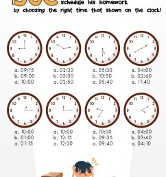 Clock Worksheets 1st Grade 30   Printable Worksheets and Activities for  Teachers [ 816 x 1056 Pixel ]