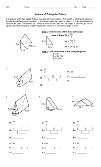 10 Best Images of Triangular Prism Surface Area Worksheet ...