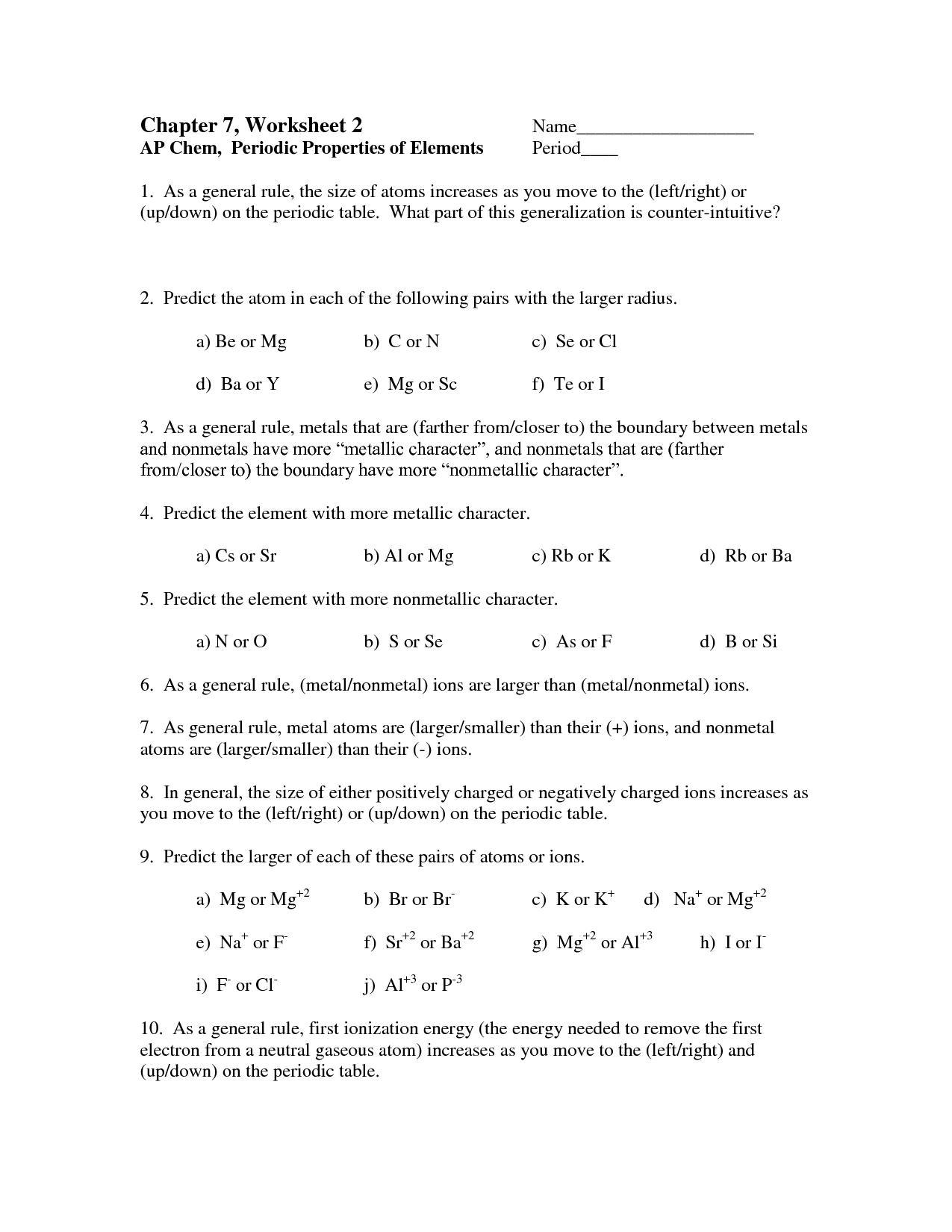 Glencoe Science Worksheet Answer Key