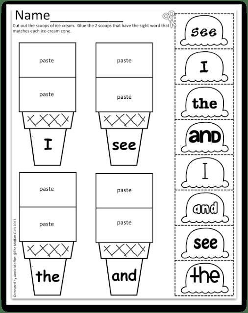 14 Best Images of Kindergarten Rhyming Worksheets And