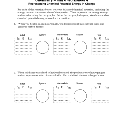 Potential Energy Diagram Worksheet Key Rj45 Wiring Crossover Straight And 14 Best Images Of Worksheets With Answer