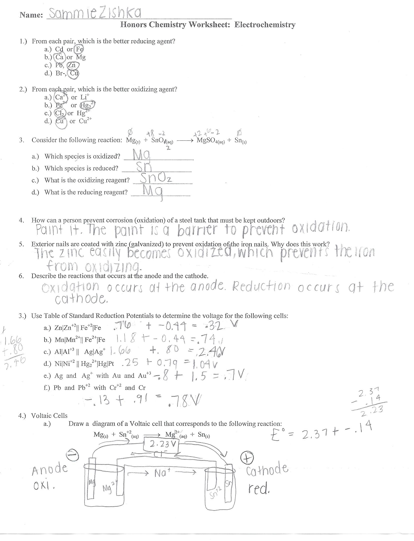Worksheet On Calculating Kinetic Energy