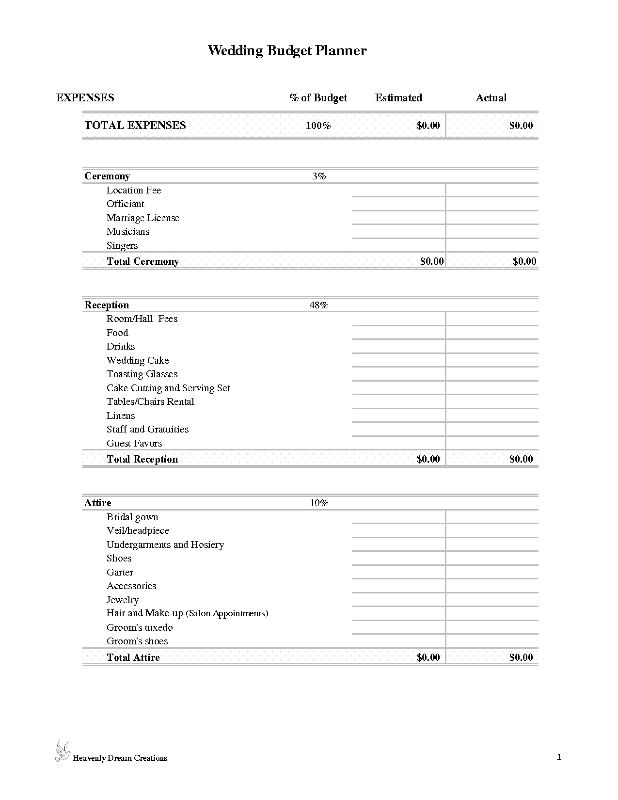 17 Best Images Of Household Budgeting Worksheet