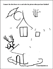 7 Best Images of Haunted House Preschool Worksheet