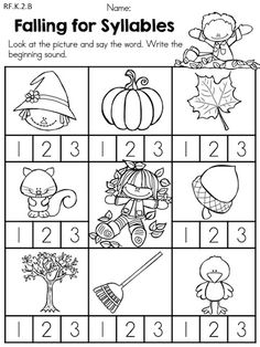 20 Best Images of Syllable Counting Worksheets For