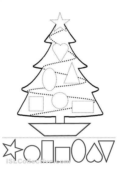 9 Best Images of And Shapes Cut Matching Paste Worksheet