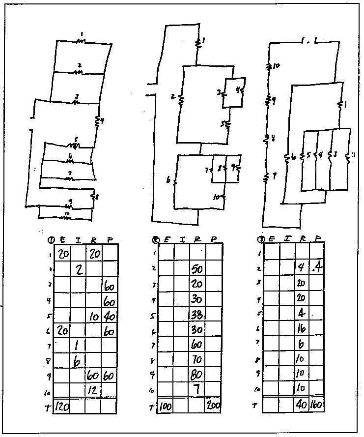 14 Best Images of Combination Circuits Worksheets With