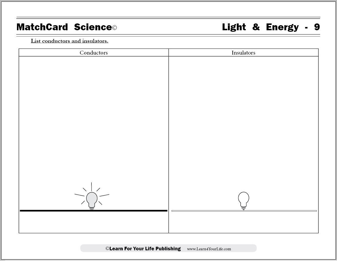 15 Best Images Of Electricity Worksheets For Students