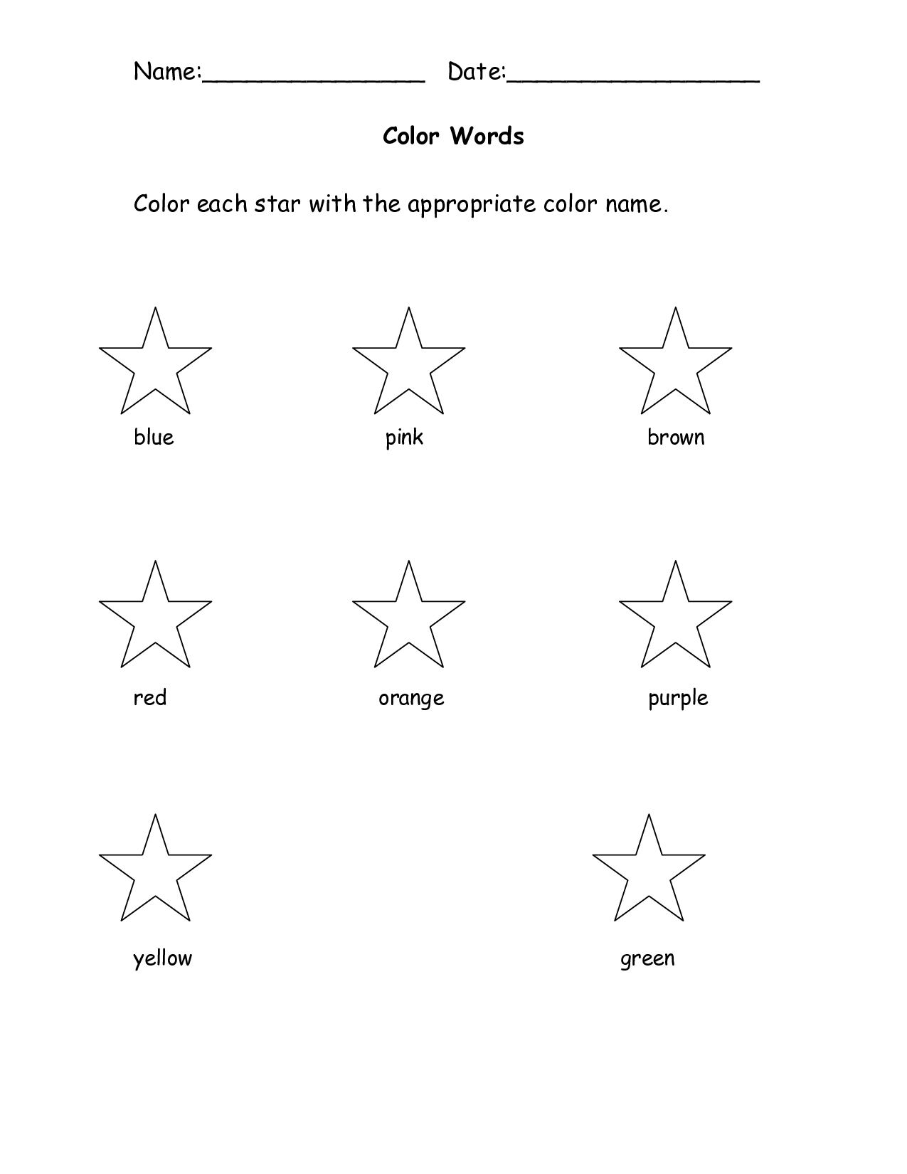 14 Best Images Of Following Directions Worksheet Fall