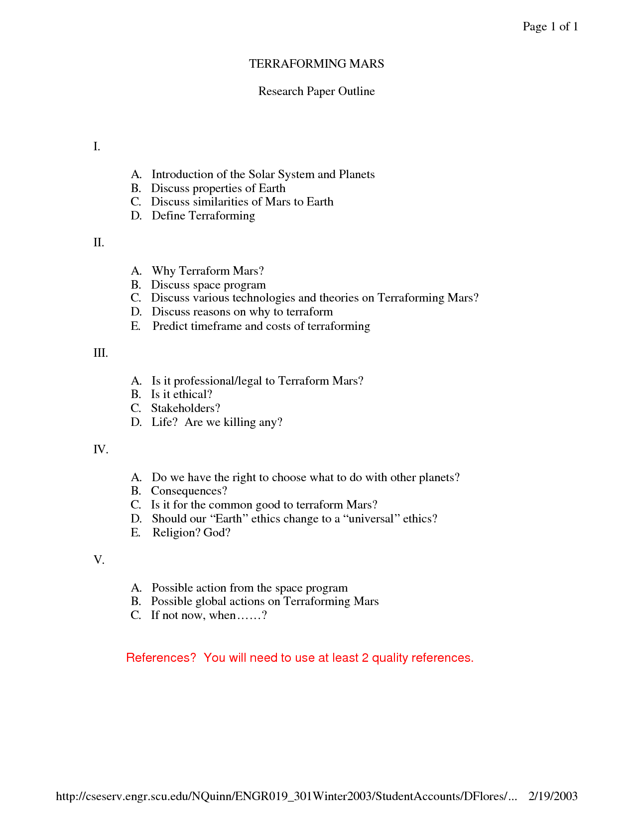 Science Fiction Book Report Worksheet